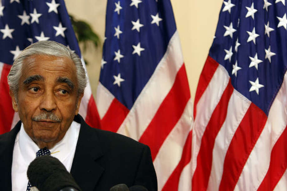 New York voters today will decide the fate of longtime Democratic Rep. Charles Rangel, who is accused of violating House ethics rules.  Photo: Mary Altaffer, ASSOCIATED PRESS