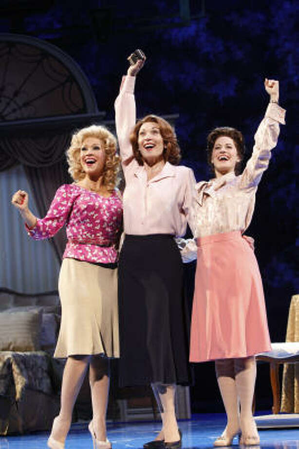 Diana DeGarmo, from left, Dee Hoty and Mamie Parris take on the roles of the iconic women in the musical version of 9 to 5. Photo: JOAN MARCUS