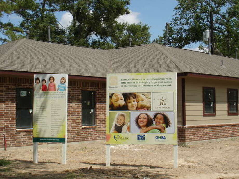 Elmview: Three facilities for women and their children who are at risk for homelessness, will make up Gracewood's northwest Houston campus.