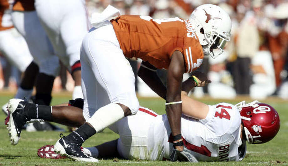 "Texas officials says they are committed ""long-term"" to the Big 12. Photo: EDWARD A. ORNELAS, San Antonio Express-News"