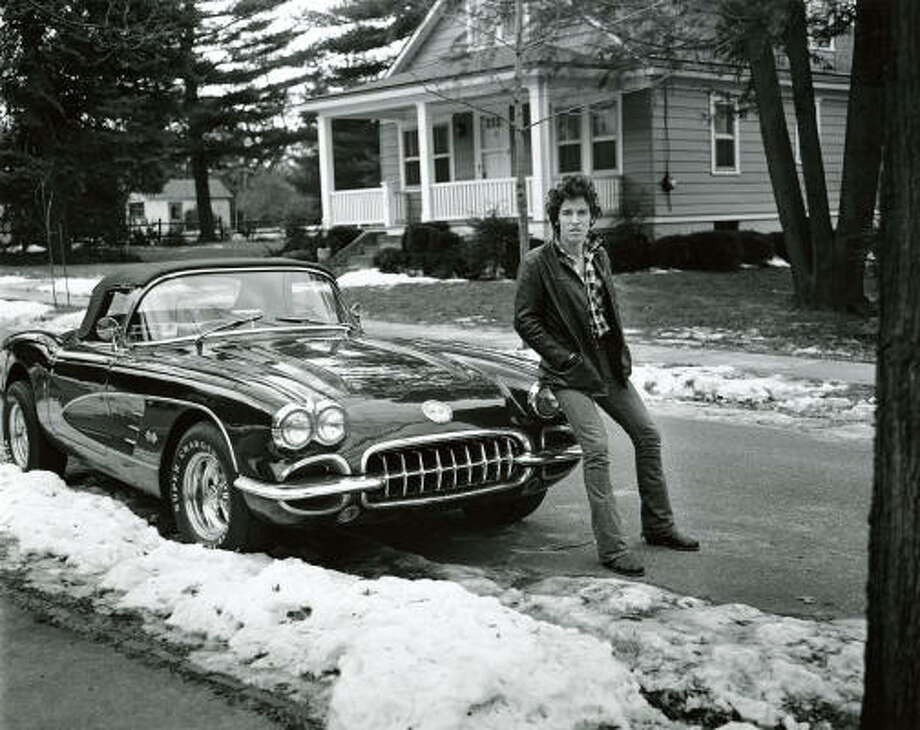 Bruce Springsteen made his first big splash with the album Darkness on the Edge of Town. Photo: FRANK STEFANKO