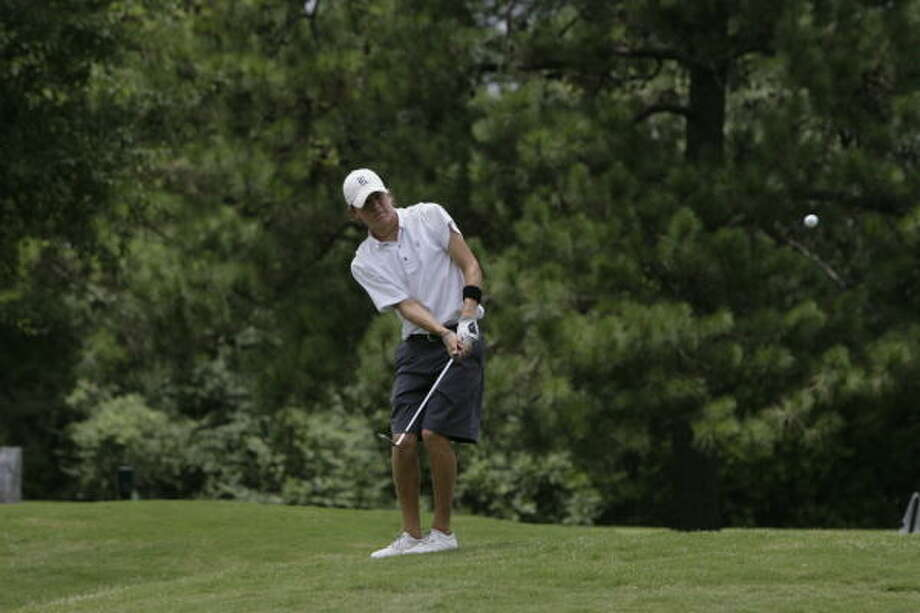 Rice's Michael Whitehead (above) defeated Colorado State's Dustin Morris to win the four-day tournament. Photo: Chronicle File Photo
