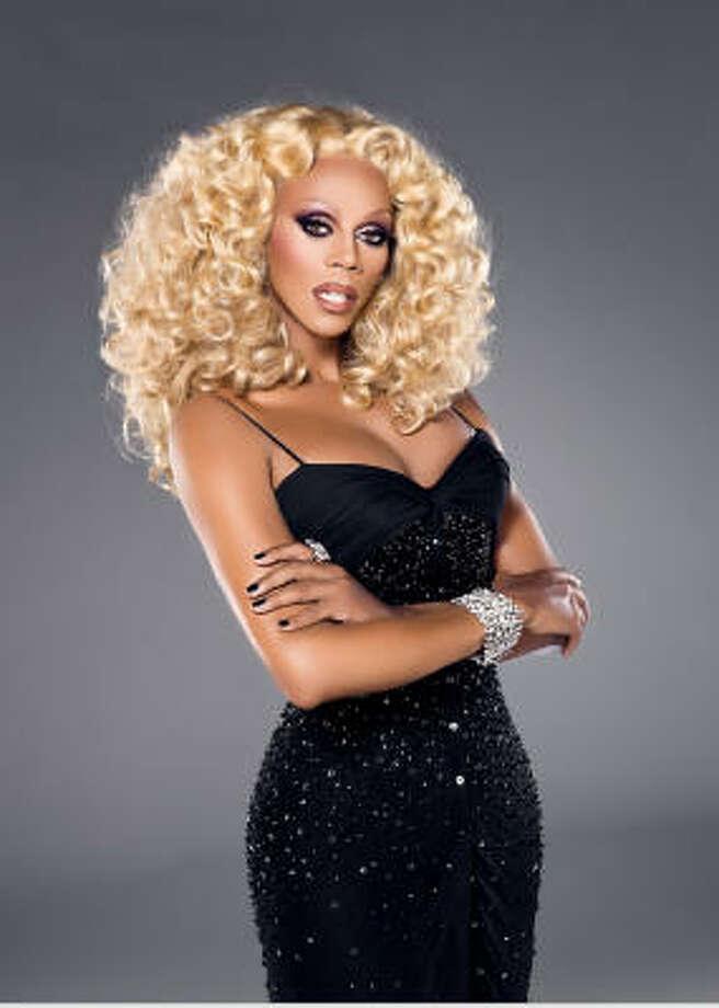 Celebrity drag queen RuPaul Photo: Mathu Andersen