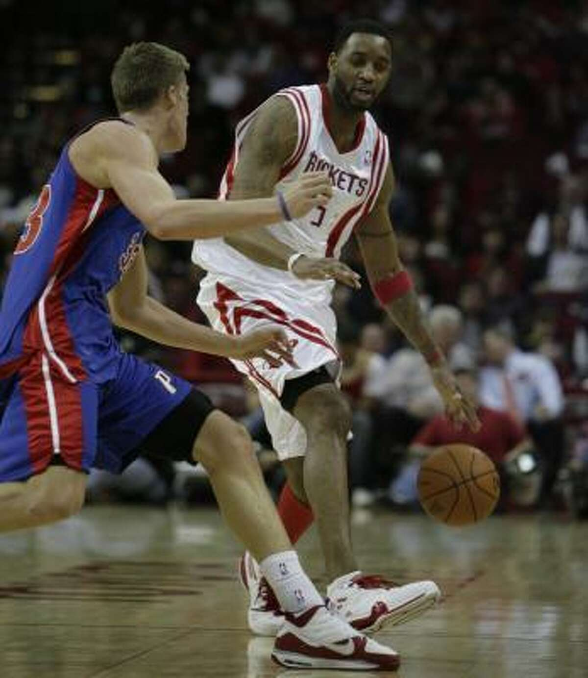 The Rockets are looking at both two-team deals and three-team deals for Tracy McGrady.