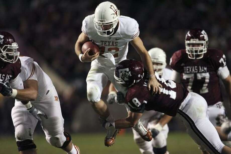 Big 12 members dislike the Texas schools' influence, but they have long mined the state for football recruits. Photo: TOM REEL, San Antonio Express-News