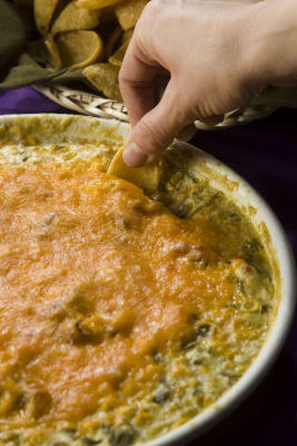 Baked Corn Dip Photo: BRETT COOMER :, CHRONICLE
