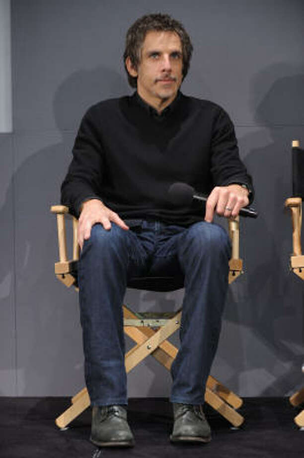 Actor Ben Stiller appears at the Apple Store Soho as part of the Meet the Actors series on March 23, 2010, in New York City. Photo: Michael Loccisano, Getty Images