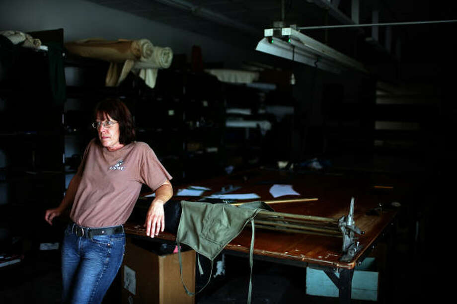 """Valerie Lilley wanted to bring jobs to the small town of Minonk, Ill. But federal bureaucratic delays left her business in tatters. """"There's days I'm mad,"""" the Marine veteran says. """"It's the smashed dreams. What do you do with them?"""" Photo: William DeShazer, MCT"""