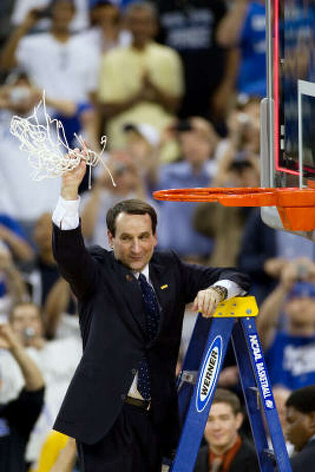 Hall of Fame coach Mike Krzyzewski concedes the shortcomings of this season's Duke squad. Photo: Smiley N. Pool, Chronicle