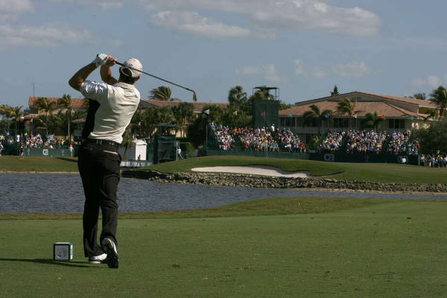 Padraig Harrington, shown at Doral, and Ernie Els, who won at Doral, will compete at Redstone Golf Club. Photo: Doug Benc, Getty Images