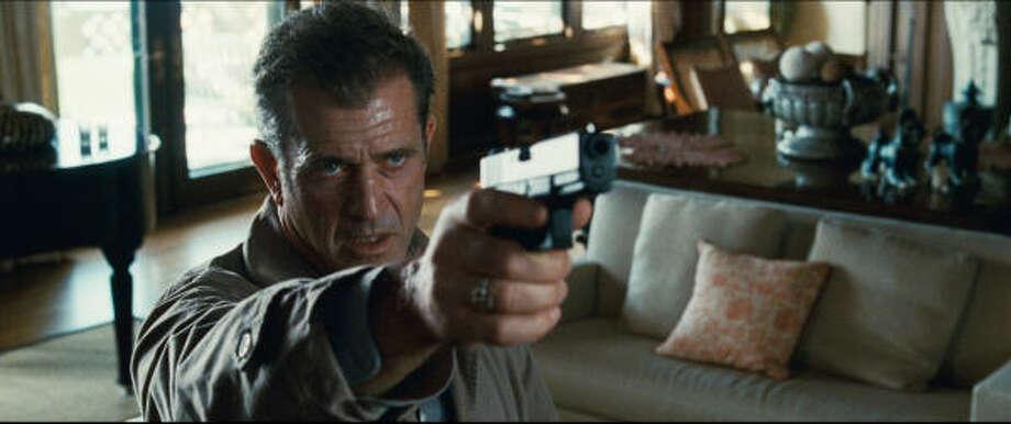 Mel Gibson stars as homicide Detective Thomas Craven in the suspense thriller Edge of Darkness. Photo: Warner Bros.