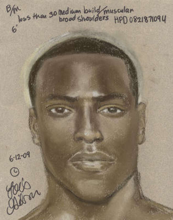 This is a composite sketch of a man suspected of sexually assaulting four women in southwest Houston. Photo: Crime Stoppers