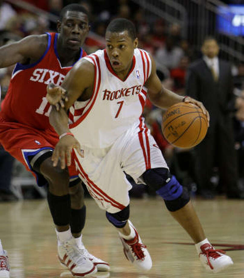 Rockets guard Kyle Lowry averaged 9.1 points and 4.5 assists in 68 games last season. Photo: Melissa Phillip, Chronicle