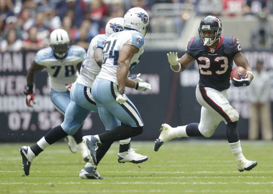 Arian Foster's breakout season provided a highlight in another playoff-free season for the Texans. Photo: Karen Warren, Chronicle