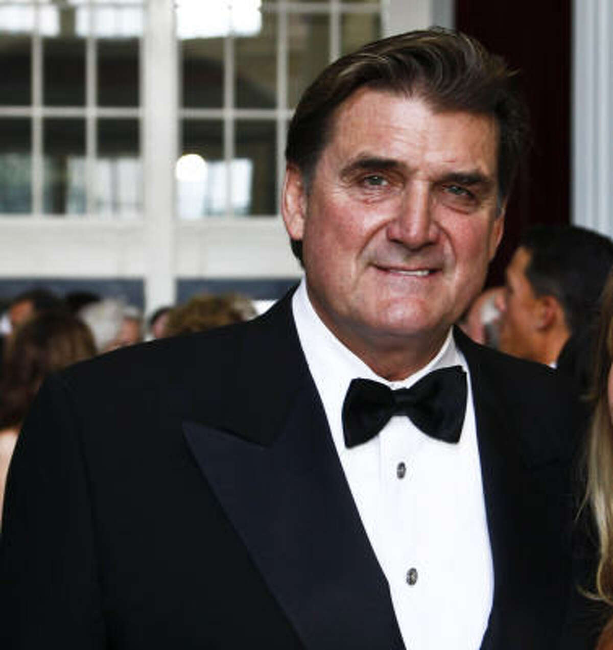 Dan Pastorini appears at Minute Maid Park at a charity event last year. He was charged early Monday with drunken driving and with not having a driver's license.