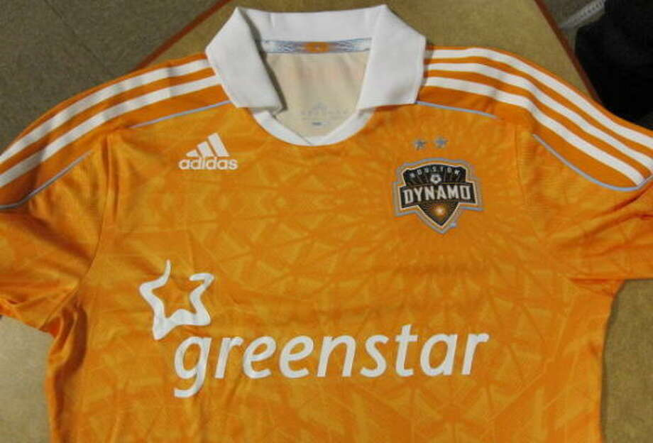 Greenstar's logo will be on the front of the team's new jersey, which will feature a collar for the first time. Photo: For The Chronicle