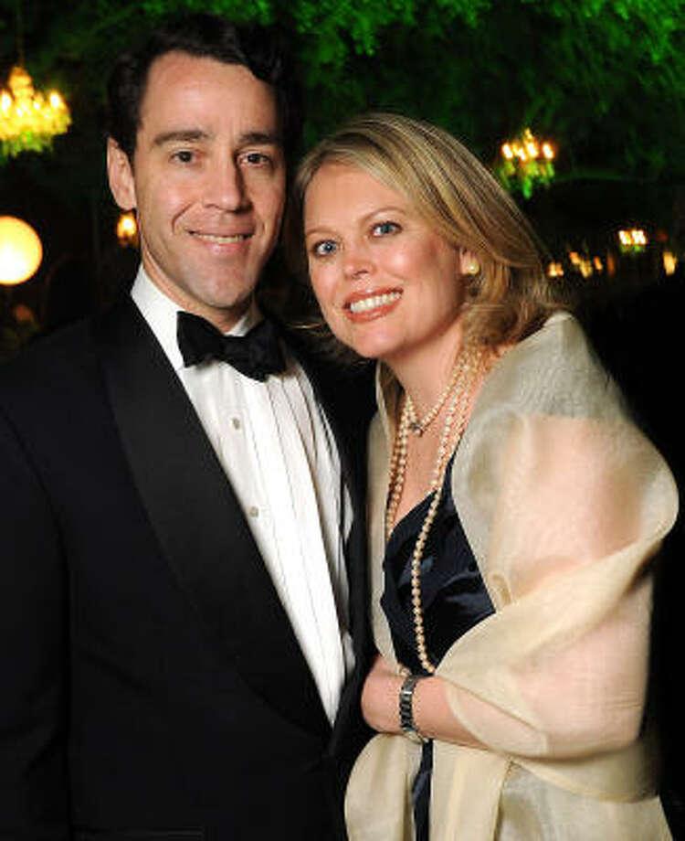Drew and Julie Sudduth Photo: Dave Rossman