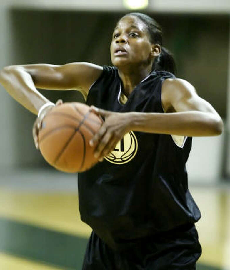 Chameka Scott won a title ring five years ago as part of a Baylor squad that knocked down giants along its path. Photo: Brandon Wade, For The Chronicle
