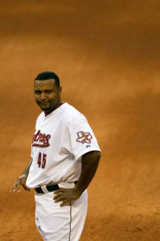 Carlos Lee, owed $37 million after this season, has shown the abilities to hit and hit for power, until this season. Photo: Smiley N. Pool, Houston Chronicle