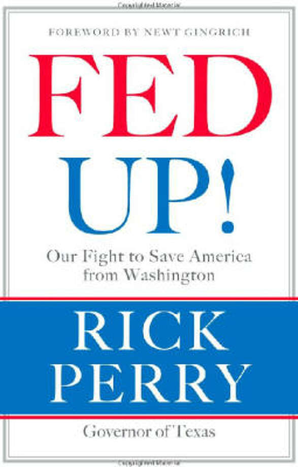 Rick Perry's book is listed for $14.84 on Amazon.com Photo: Amazon