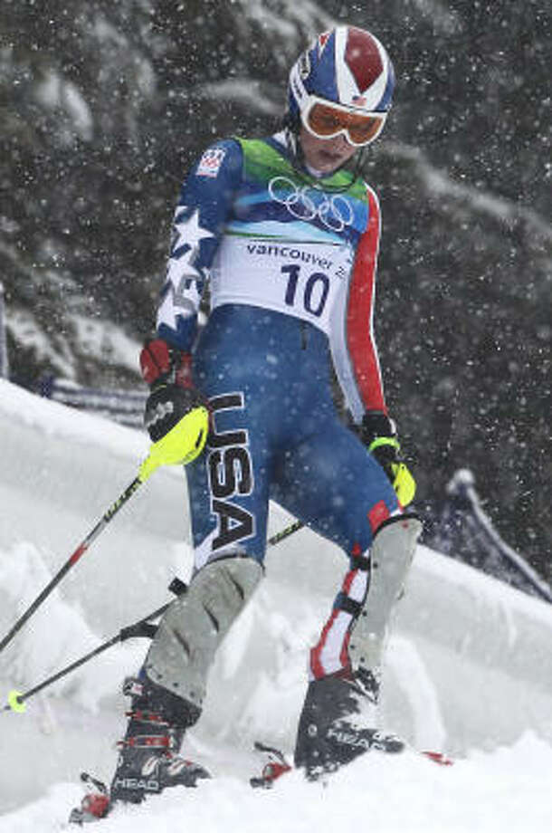 Lindsey Vonn won two medals but failed to finish three of her five races. Photo: Clive Rose, Getty Images