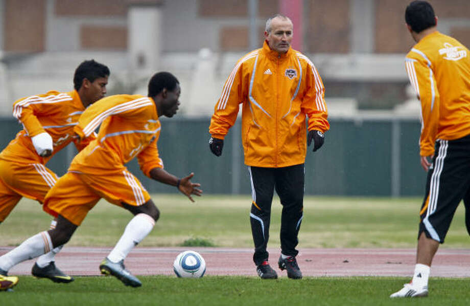 The Dynamo open the season March 27 against FC Dallas. Photo: Michael Paulsen, Chronicle