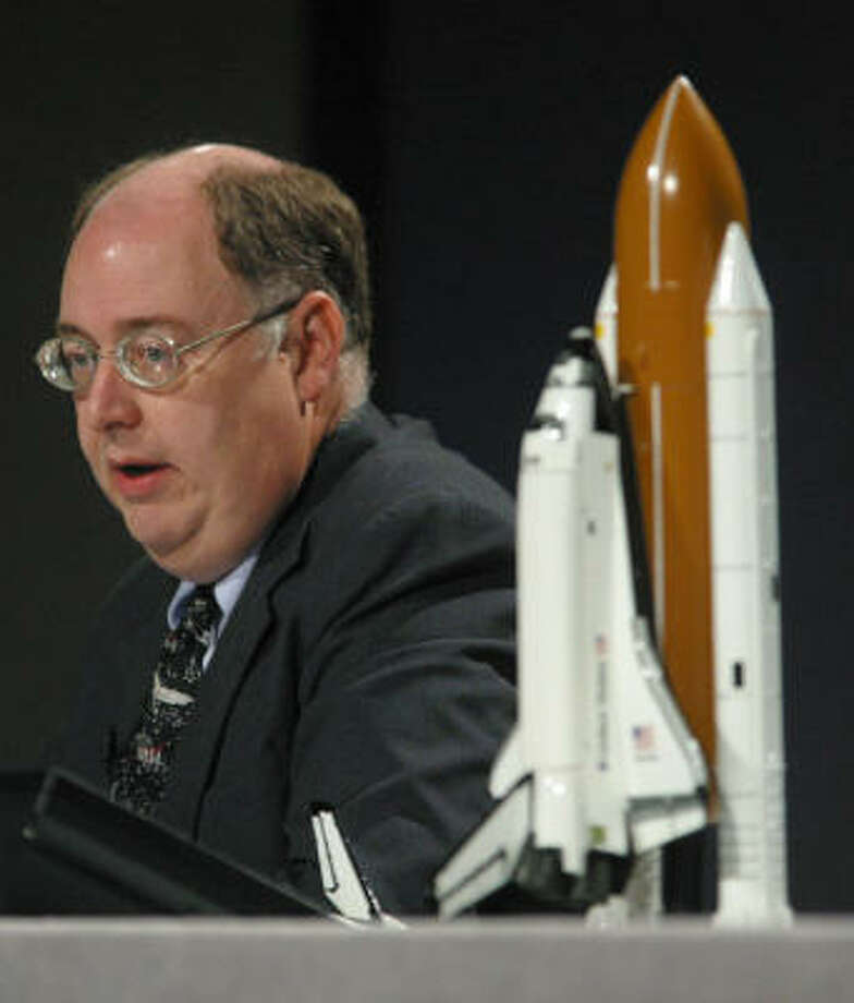 Wayne Hale spent 32 years with NASA's space shuttle program. Photo: MICHAEL STRAVATO, AP File