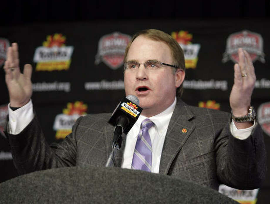 With Gary Patterson's help, TCU has bridged a large gap between itself and elite programs in a short time. Photo: Paul Connors, AP