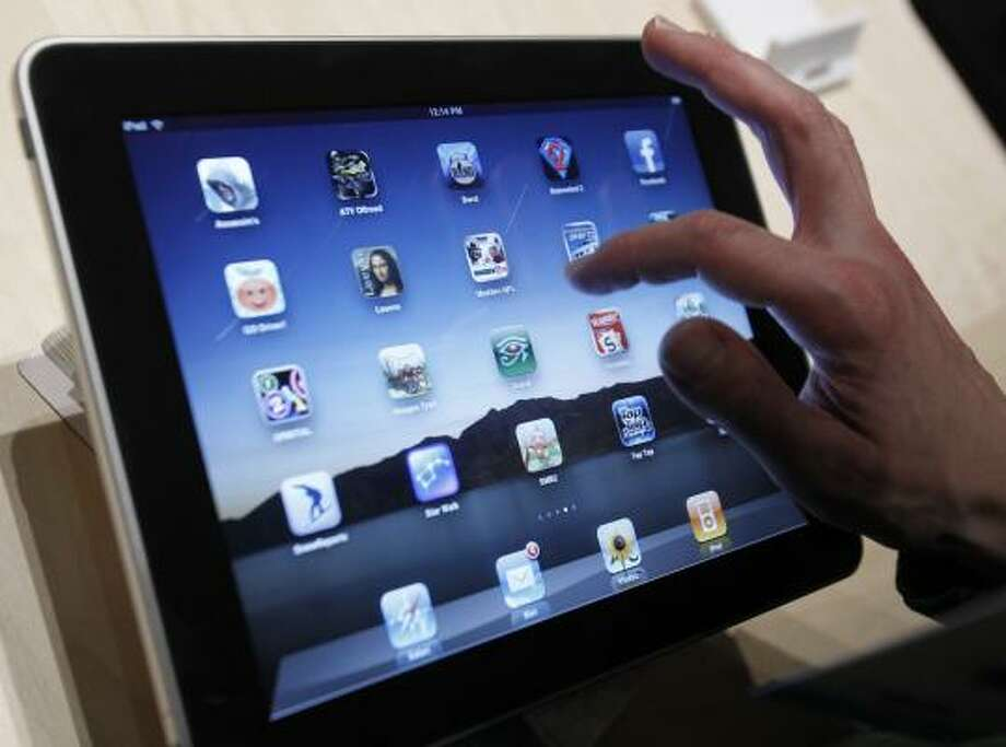 The iPad will be on store shelves Saturday. Photo: Marcio Jose Sanchez, AP