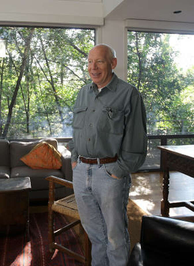 "Former Mayor Bill White, shown at his Houston home, says he is certain that for Democrats, ""the pendulum will swing in Texas."" Photo: Karen Warren, Chronicle"