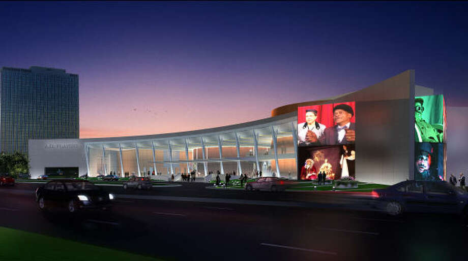 STATE OF THE ART: The A.D. Players new $49 million, 130,000-square foot theater facility is set to break ground in the Galleria district in 2010. The building will have three different performing venues. Photo: Courtesy: Gabriel Architects