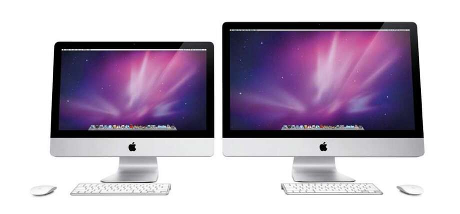 21.5 inch Apple iMac computer and 27 inch Apple iMac computer Photo: Apple Inc. / DirectToArchive