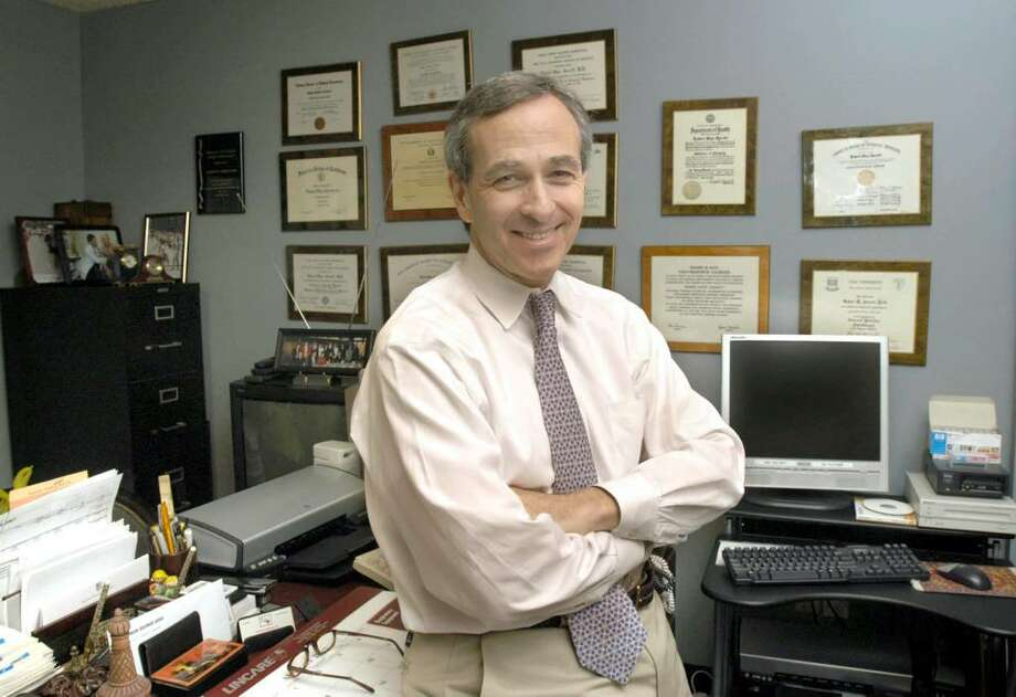 2007 file photo of Dr. Robert Jarrett Photo: Carol Kaliff / The News-Times