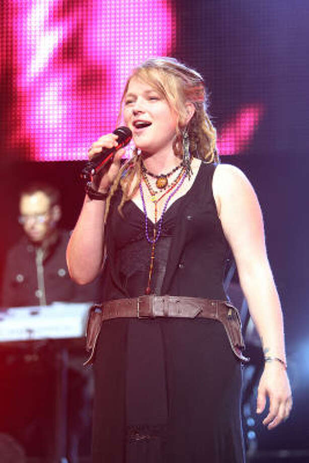 Crystal Bowersox's new CD is Farmer's Daughter. Photo: Mayra Beltran, Chronicle