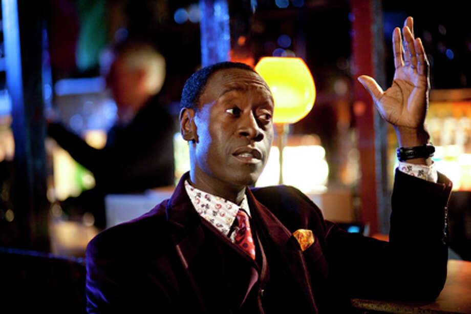 "Don Cheadle as Agent Wendell Everett in ""The Guard."""