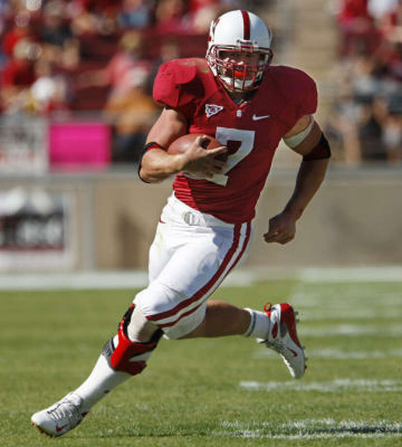 Stanford running back Toby Gerhart may be one of the Texans' targets during the second day of the draft. Photo: Paul Sakuma, AP