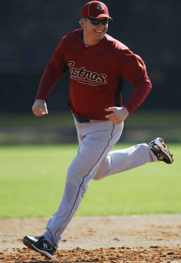 Geoff Blum has been getting time at shortstop in place of the injured Tommy Manzella. Photo: Julio Cortez, Chronicle