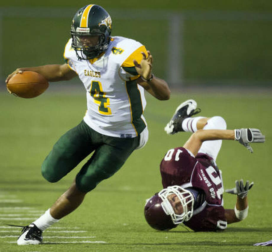 The Golden Eagles will miss Matt Davis' production as well as his on-field leadership. Photo: Smiley N. Pool, Chronicle