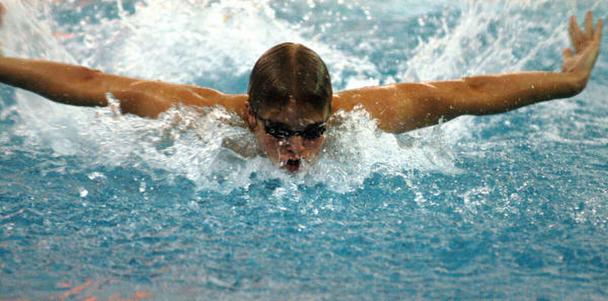 All the hard work and time Cole Cragin spent in the pool paid off with a scholarship to the University of Texas.