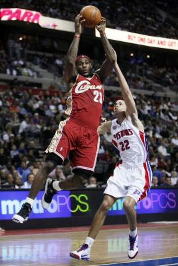 LeBron James has turned his free-agency decision into a nationally-televised event. Photo: Paul Sancya, AP