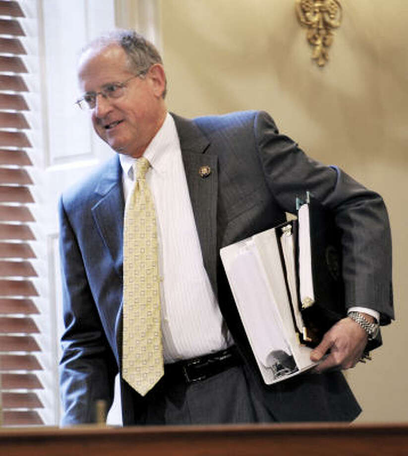Rep. Mike Conaway, a CPA, has used his auditing skills to fight waste and corruption. Photo: Cliff Owen, Associated Press