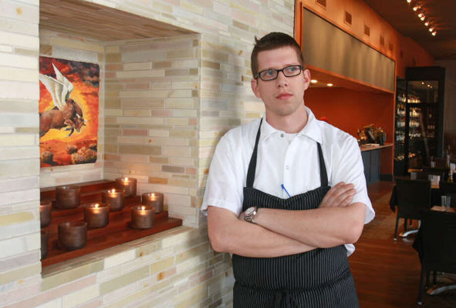 Stella Sola chef de cuisine Justin Basye Photo: Gary Fountain :, For The Chronicle