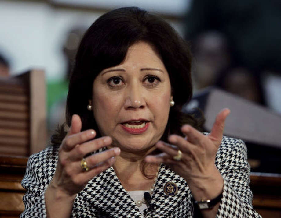 "Labor Secretary Hilda Solis' ""aggressive enforcement first approach"" has not endeared her to some business groups, but her changes have drawn praise from labor unions. Photo: Wilfredo Lee, Associated Press"