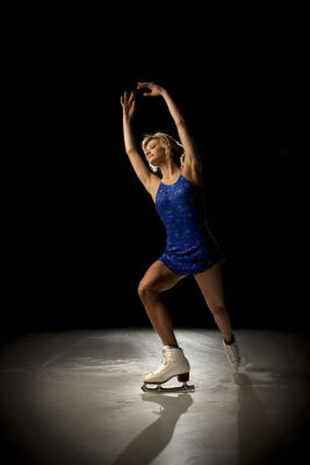 In 2008, Becky Bereswill won the International Skating Union's junior Grand Prix Final as a singles skater. Photo: Robert Seale, For The Chronicle