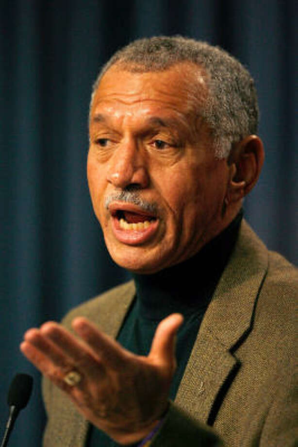 NASA Director Charles Bolden says the space agency will no longer be going it alone. Photo: Eliot J. Schechter, Getty Images