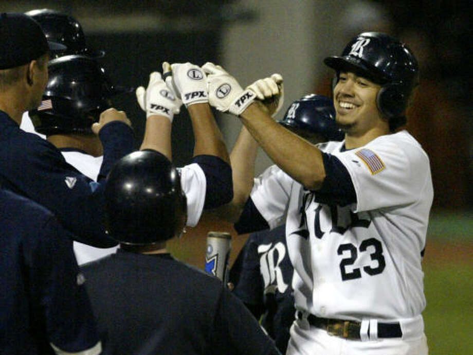 Rice third baseman Anthony Rendon joins an illustrious group of past winners. Photo: Billy Smith II, Chronicle