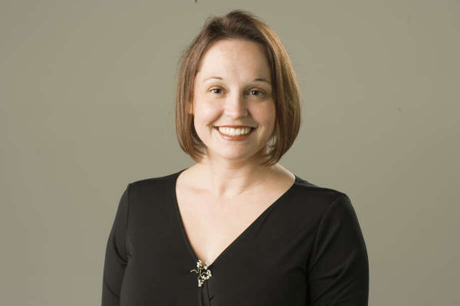 Jenny Lawson also writes for MomHouston's Good Mom/Bad Mom site. Photo: Buster Dean, Houston Chronicle