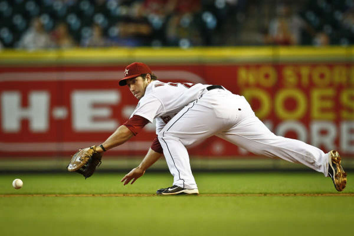 The Astros will be placing their faith in young players such as first baseman Brett Wallace.