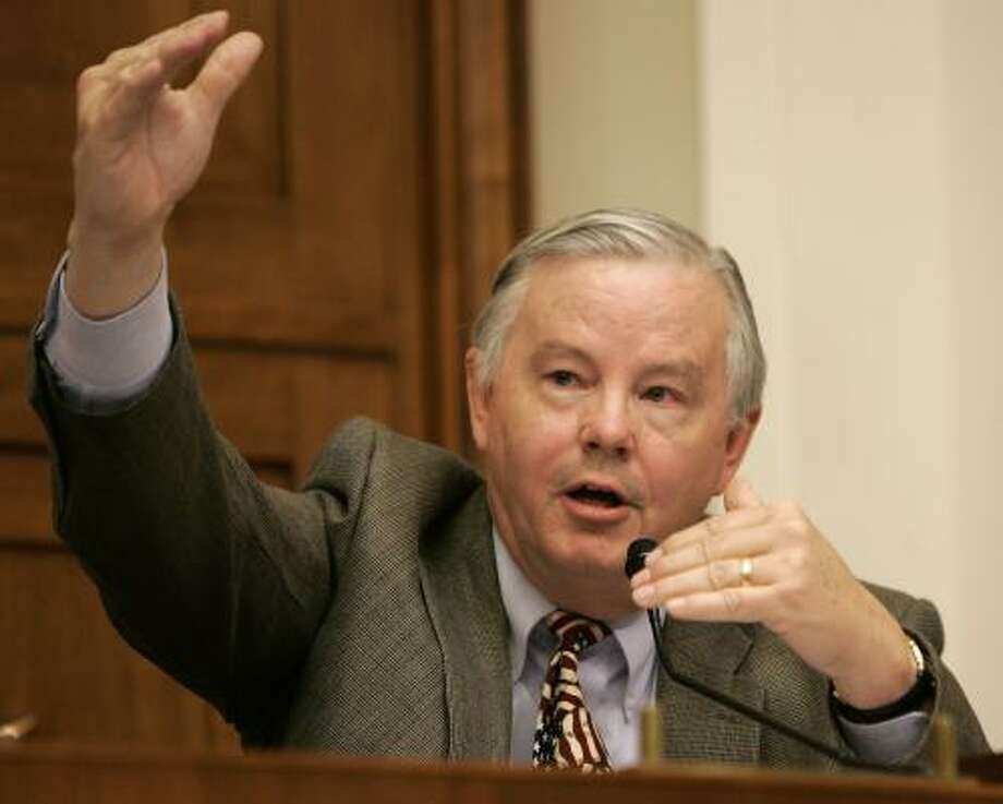 U.S. Rep. Joe Barton has mounted a tough campaign for the chairmanship. Photo: Susan Walsh, Associated Press