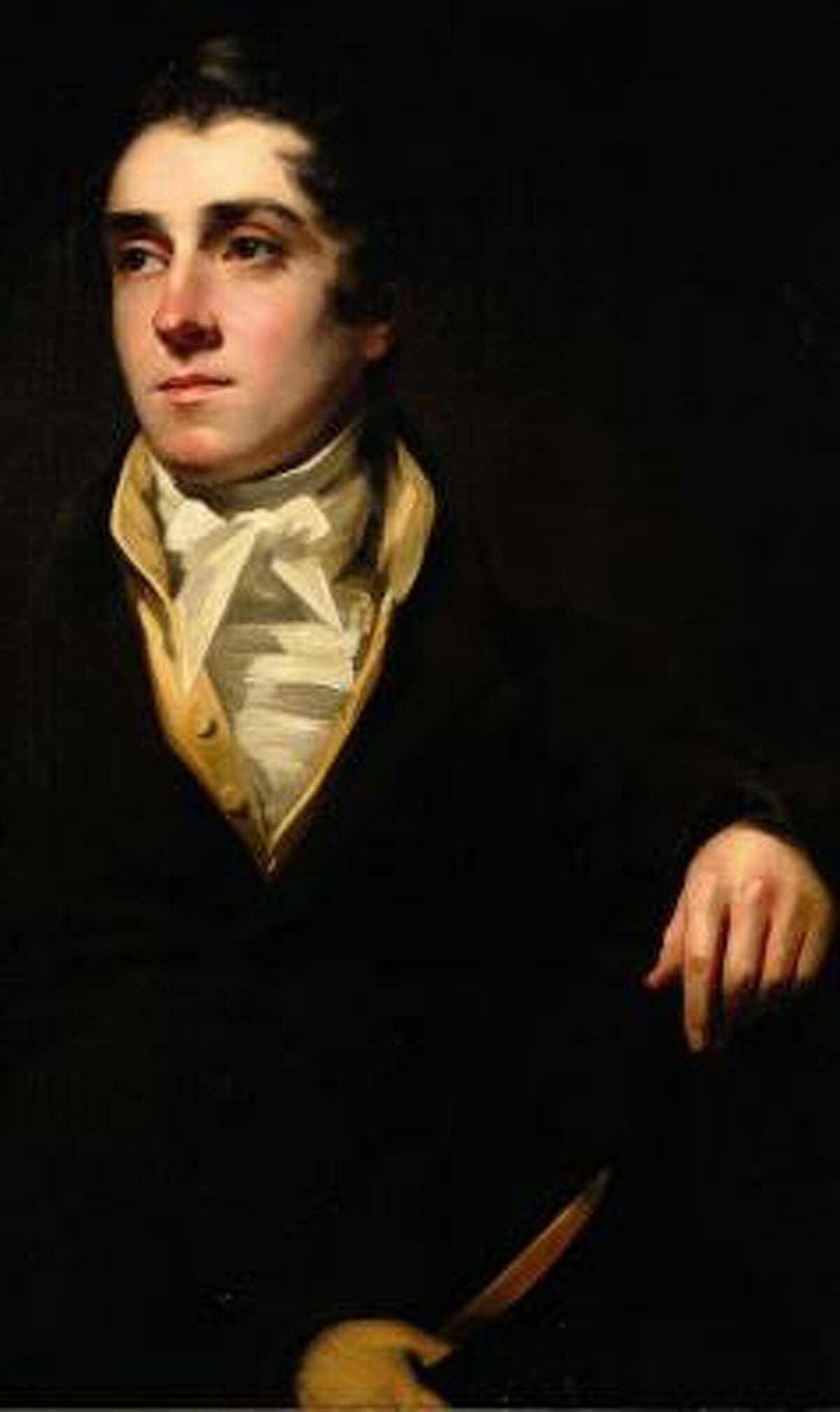 The painting attributed to Sir Henry Raeburn was identified at Sotheby's auction house last year.